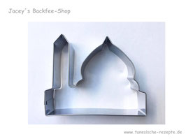 Ausstechform Moschee mit Kuppel