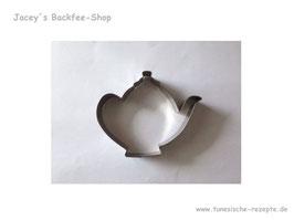 Ausstechform Teekanne