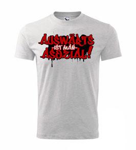 Auswärts asozial Shirt
