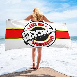 Ehre der Sektion Stadionverbot Strandtuch