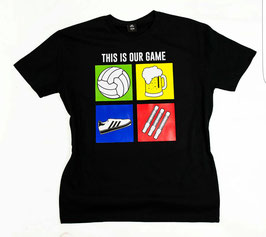 This is our Game Shirt Schwarz