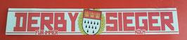 100 Köln Derbysieger Aufkleber Riesig
