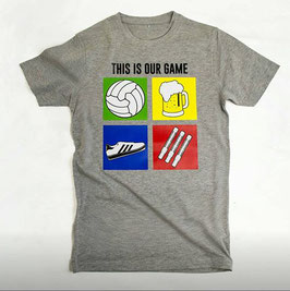 This is our Game Shirt Grau