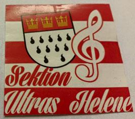 150 Köln Sektion Ultras Helene Aufkleber