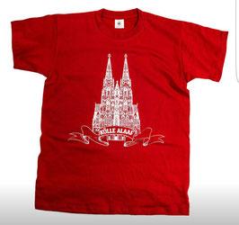 Köln DOM Kölle Alaaf Shirt Rot