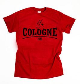 Köln Geissbock Shirt Rot
