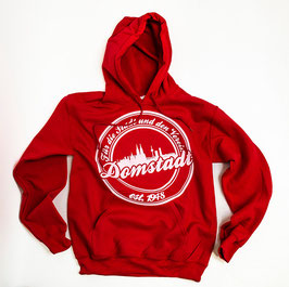 Domstadt Hoodie Rot