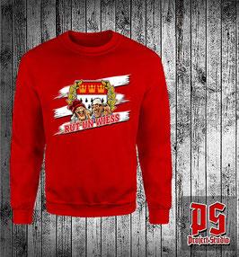 Köln rut und wiess Gerhardt Edition Sweatshirt Rot