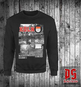 Köln Kurvenbilder Sweatshirt