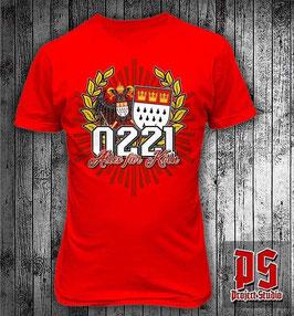 Köln 0221 alles für Kölle Shirt