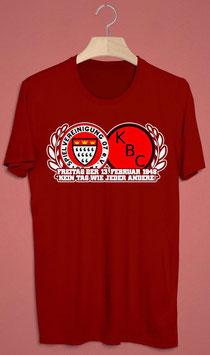 Köln Logos Freitag 13.Februar 1948 kein Tag wie jeder andere Shirt Rot