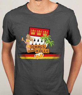 Köln Sommer Sonne Kölle Shirt