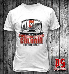 Fussballclub Colonia Meine Stadt mein Club Shirt