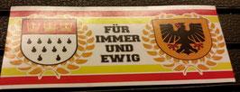 150 Köln Dortmund für immer und ewig Aufkleber