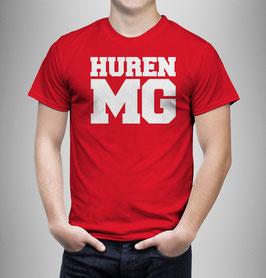 Huren MG Shirt Rot
