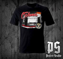 Köln Colonia Stadion +beide Wappen Shirt