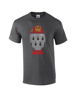 Köln Fingerprint Shirt Dunkelgrau