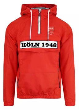 Köln 1948 Stadtwappen Windbreaker rot