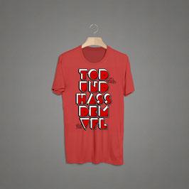 VFL Merda Tod und Hass dem VFL Shirt rot