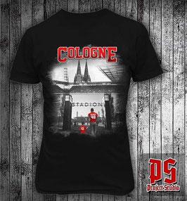 Köln Cologne Stadion Dom Vater und Sohn Shirt