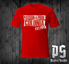 Köln Passion +Pride ohne Wappen Shirt