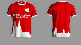 Dom Stick Shirt Set Rot und Weiss
