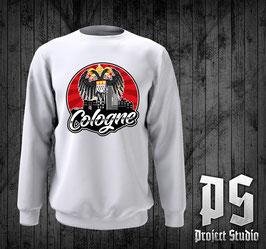 Köln Cologne Rund mit Stadtadler Hoodie /Sweatshirt