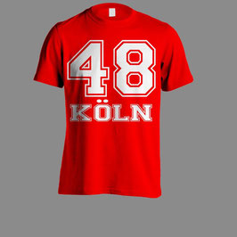 Köln 48 Shirt Rot