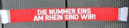 Köln Die nummer eins am Rhein sind wir Seidenschal