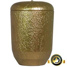 Naturstoff Urne Goldfarben