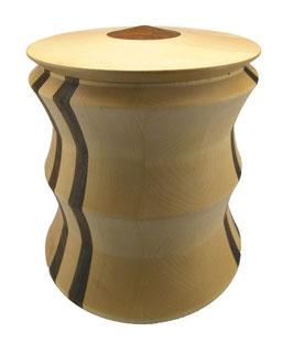 Ahorn Urne afrikanischer Nussbau Premium 10-0009