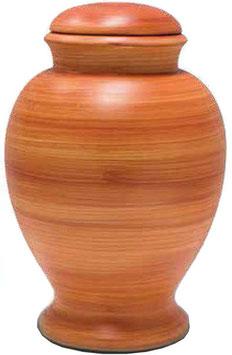 Bio Urne aus Lehm