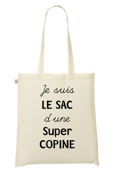 "Tote Bag ""Super Copine"""