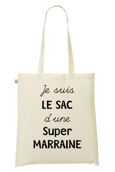 "Tote Bag ""Super Marraine"""