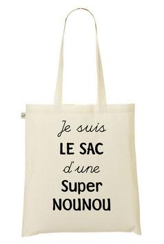 """Tote Bag """"Super Nounou"""""""