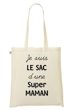 """Tote Bag """"Super Maman"""""""