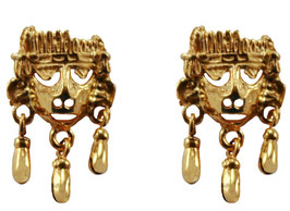 Xipe Totec with Bells Earrings