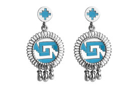 Chimalli Earrings with vista