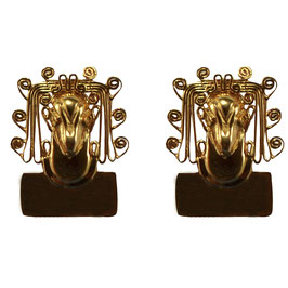 Xochipilli God of Love Earrings