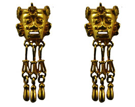 Tonatiuh largo Earrings