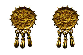 Sol Juego de Pelota Earrings