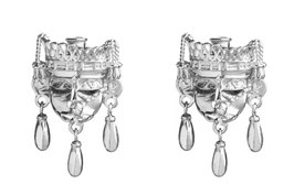 Xipe Totec Mask earrings with bells