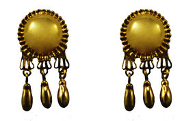 Media Bola Earrings with bells