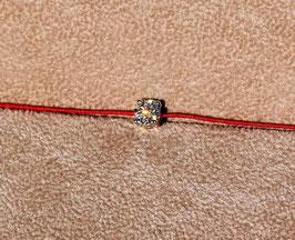 Diamantarmband LUCY feuerrot
