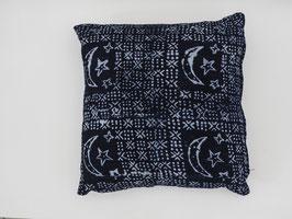 Mud Cloth Pillow Indigo No. 3