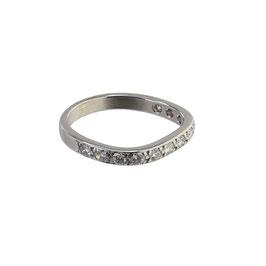 Diamant Halb-Alliance Ring