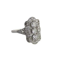 Diamant Ring, Art Déco 1920's