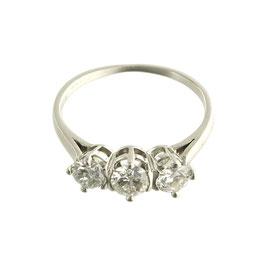 Diamant Riviere Ring