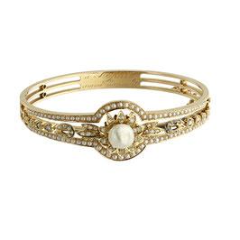 Antiker Perlen Armreif, wohl Französisch