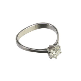Diamant Solitär Ring